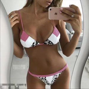 Other - new cheeky 2pc bikini set small